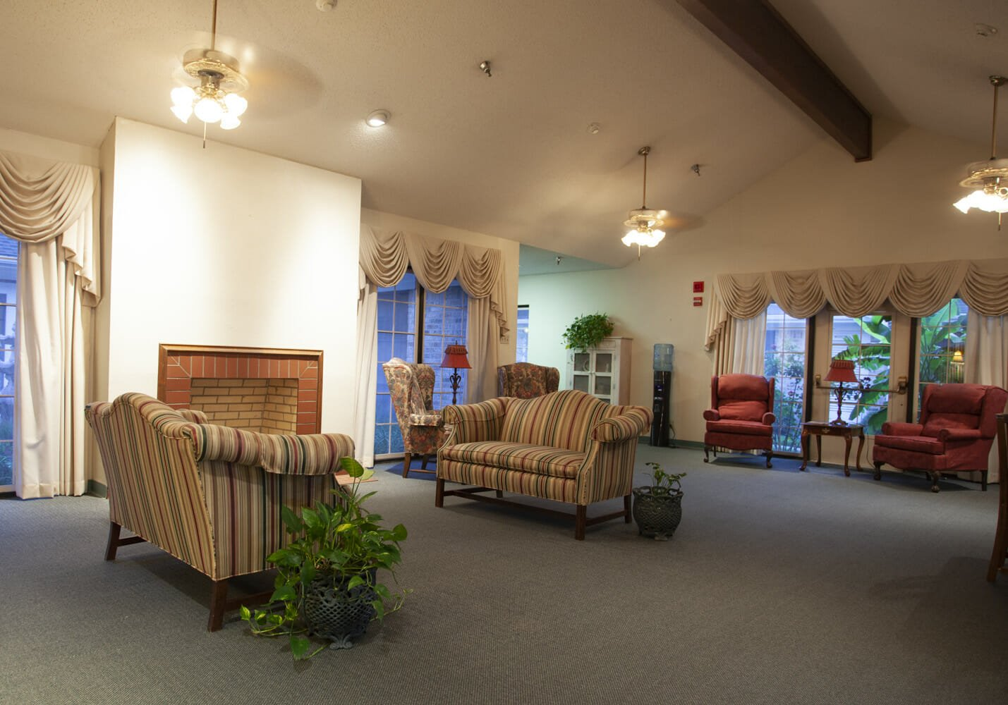 Real Estate Photography of Reception Room of Business
