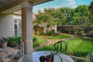 Real Estate Photo of Backyard