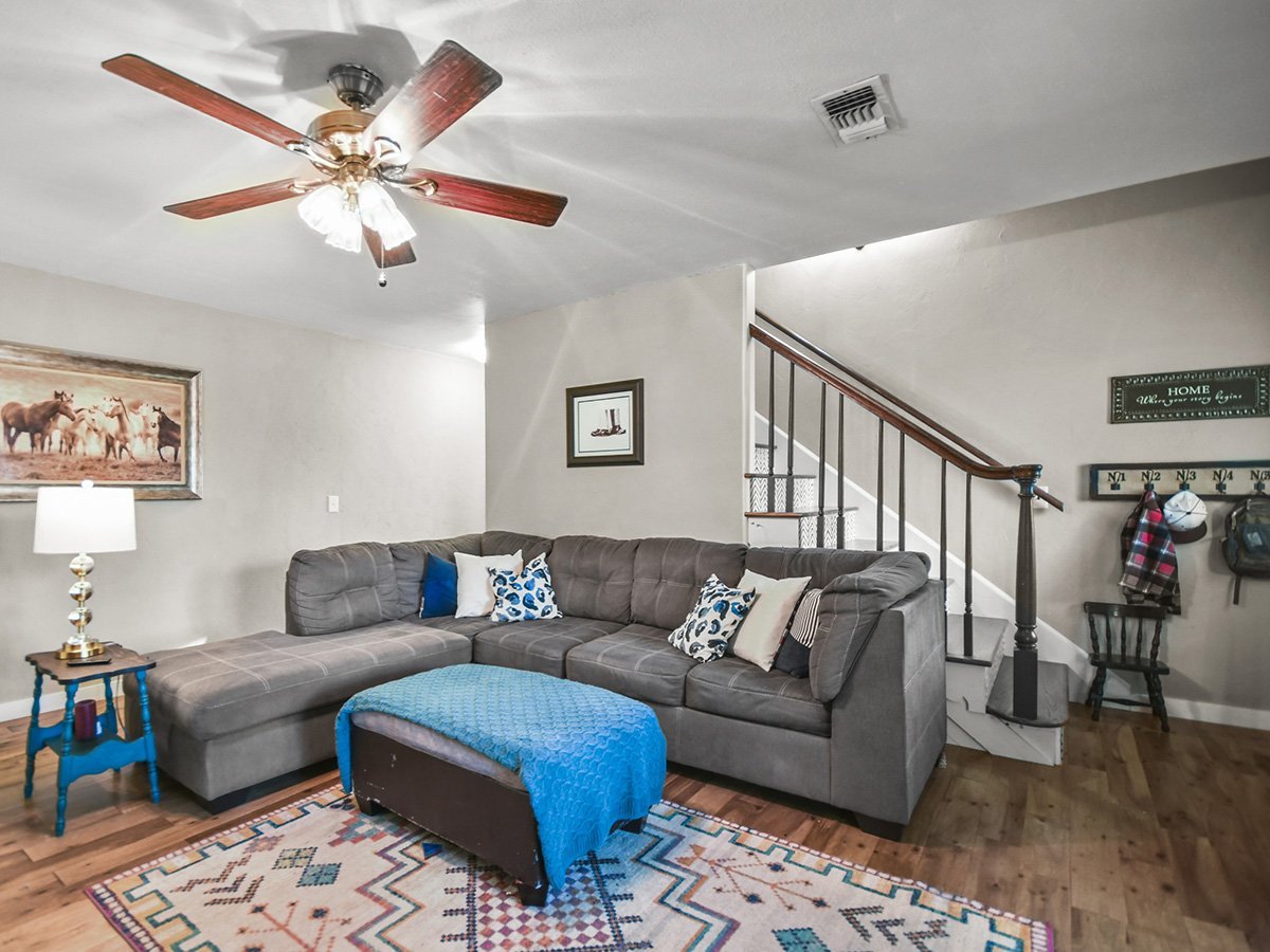 Real Estate Photography of Den